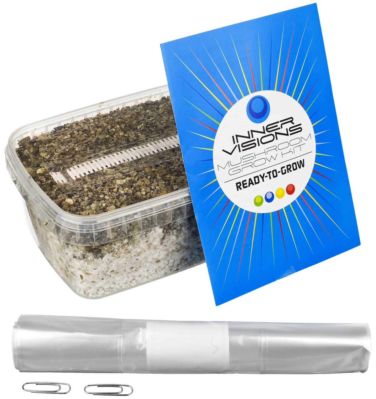 Mushroom Grow Kit Ready-To-Grow - Innervisions